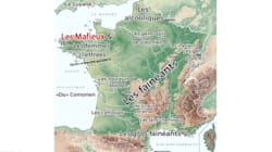 La carte partagée sur les réseaux sociaux après la blague de Macron sur les