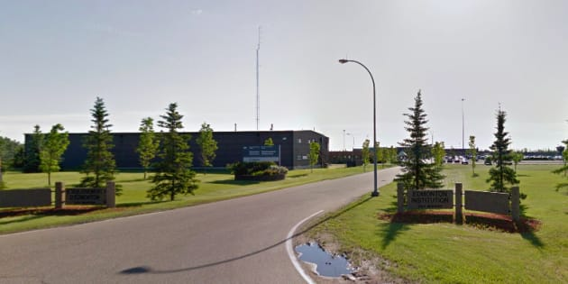 The Edmonton Institution, where female guards allege they were physically and sexually abused by their male co-workers, is seen in a Google photo.
