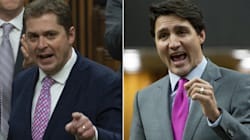 Trudeau, Scheer Tangle In Heated Exchange About White
