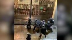 Une enquête ouverte après cette vidéo d'un homme roué de coups par des policiers à