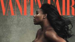 Serena Williams como nunca: desnuda y embarazada para 'Vanity