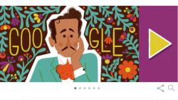 Cien años del nacimiento de Pedro Infante y Google lo recuerda