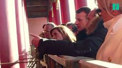 La phrase impériale très symbolique méditée par Macron lors de sa visite à la Cité