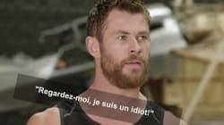 Vexé par Captain America, Thor se venge comme il