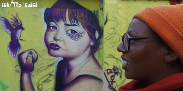 Femme et artiste graffeuse, comment Doudou Style a conquis l'espace public aux yeux de tous.