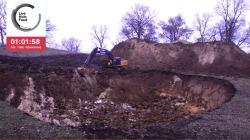 Ils récoltent 100.000 pour creuser un gros trou