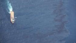 Déjà grande comme Paris, la marée noire en mer de Chine a triplé de taille en 4
