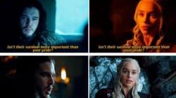 SPOILERS - Jon Snow et Daenerys Targaryen ont la même vie, la preuve en