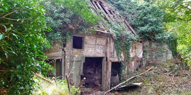 La ruine rénovée par David Connot et Kate Darby.