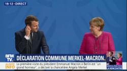 Pour le couple Macron-Merkel, des