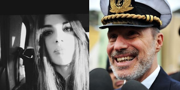 La figlia di Schettino contro De Falco: