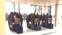 Indian Army Pays Tribute To 3 Soldiers Killed In Machhal