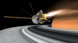 La sonde Cassini plonge dans les anneaux de Saturne pour y finir sa