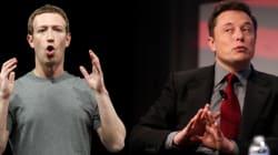 Zuckerberg vs Musk: riñen por visión contraria sobre inteligencia