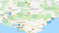 La carte des nouvelles destinations