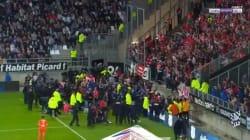 29 blessés dont 5 graves après l'effondrement d'une barrière lors du match