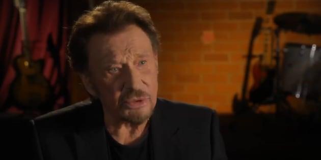 """Quand Johnny évoquait son cancer: """"La maladie c'est dans la tête. Soyons heureux!"""""""