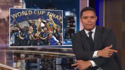 Des Bleus africains? La blague du «Daily Show» a mal