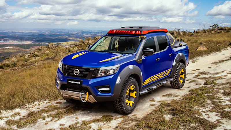 Nissan S Frontier Sentinel Concept Is A Modernized Rescue Pickup