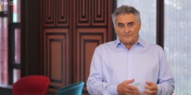 """Jean-Christophe Victor, lors d'une émission """"Le Dessous des Cartes"""""""