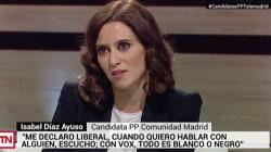 Le preguntan a la candidata PP en Madrid si Vox es populista... y su respuesta es