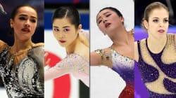 女子フィギュア世界選手権、注目選手のフリー滑走順と放送時間は?