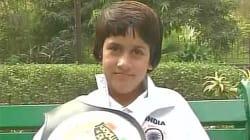 Eight-Year Old Kashmiri Girl Tajamul Islam Wins Gold In World Kickboxing