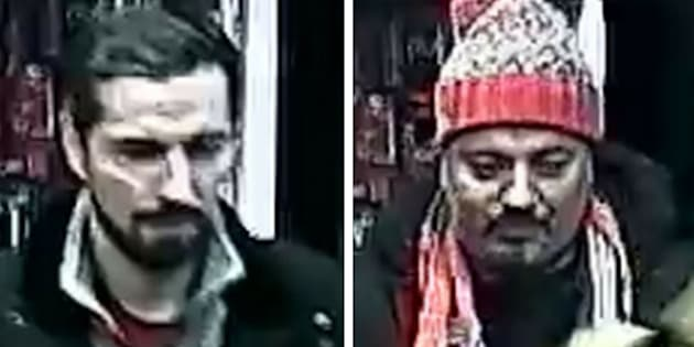 Police in Toronto say these two men are responsible for an assault on Dec. 9.