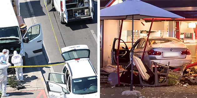 A Marseille, près du Vieux-Port, une voiture a foncé dans deux abribus. Début août, une voiture rentrait dans une pizzeria en Seine-et-Marne, faisant une victime et une trentaine de blessés.