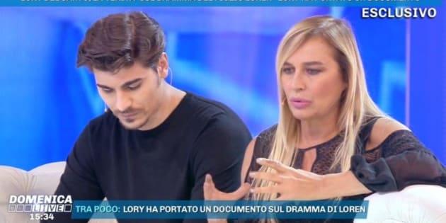 """Lory Del Santo: """"Dopo il suicidio del fratello, anche m"""
