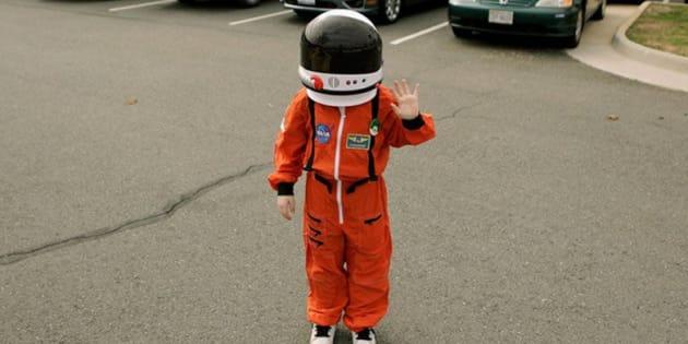 Este garotinho de 9 anos que ser o novo 'Oficial de Proteção Planetária' da NASA.