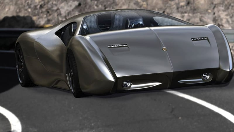 Lyons Motor Car To Showcase Oddball Lm2 Streamliner In New York W Video Autoblog