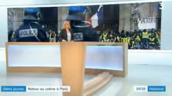 France 3 accusée d'avoir censuré la pancarte anti-Macron d'un gilet