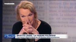En larmes, Brigitte Lahaie regrette d'avoir été