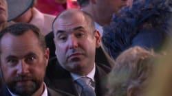 Royal Wedding: 'Suits' Star Rick Hoffman Blames 'Weird Face' On Fellow Guest's Bad