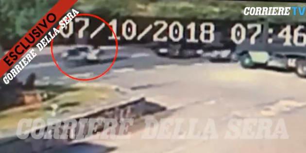 """George Clooney: la vidéo de son accident publiée par la """"Corriere della Sera"""" montre que ça aurait pu être beaucoup plus grave"""