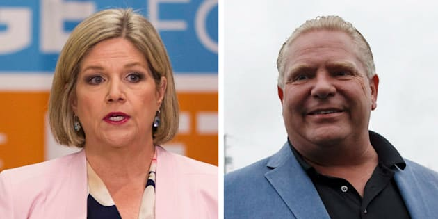 Abacus Data says its surveys show Doug Ford is most likely to become Ontario's next premier, although Andrea Horwath could potentially pull off an upset win.