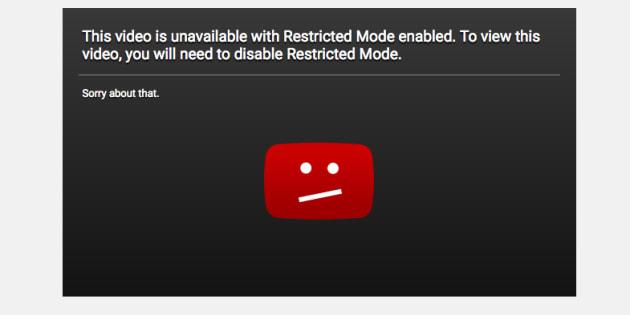 """YouTube se fait incendier avec son """"mode restreint"""" qui bloque des vidéos LGBT"""