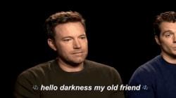 Ben Affleck por fin habla de su cara triste, esa que se hizo