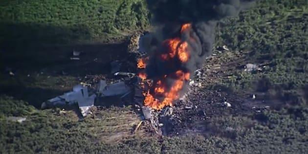 16 morts dans le crash d'un avion militaire — Etats-Unis