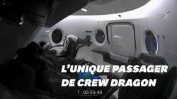 Le mannequin Ripley était le seul à voyager dans la fusée de