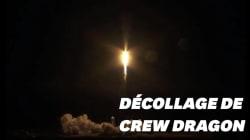Les images du décollage réussi de la fusée