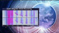 Le son du champ magnétique terrestre capturé en pleine