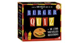 Le jeu Burger Quiz en quasi-rupture de stock et pas réapprovisionné avant