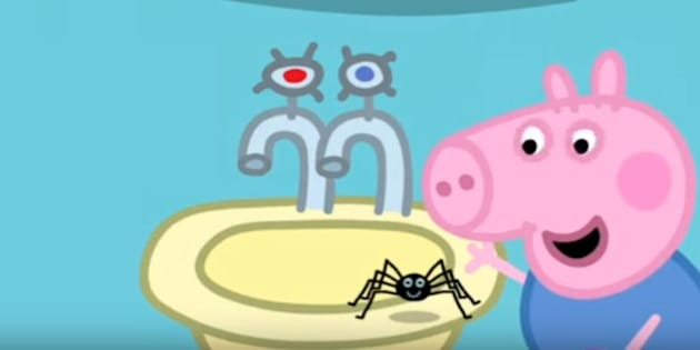 """Un épisode de """"Peppa Pig"""" (encore) censuré en Australie car il était trop gentil avec les araignées"""