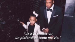 Blue Ivy rappe sur l'album de son père (mais personne ne comprend ce qu'elle