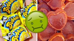Quais destes doces causavam discórdia entre sua turma de amigos na