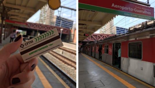 Testamos: Como é viajar no novo trem expresso da Luz para o Aeroporto de