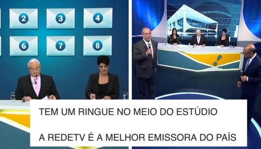 Internet aprova 'Game Show' do debate RedeTV! com 'ringue' e inspiração no