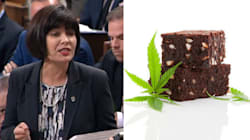 MP Heckles Health Minister's Pot Answer By Yelling About